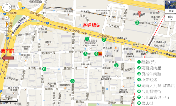 taipei station map2
