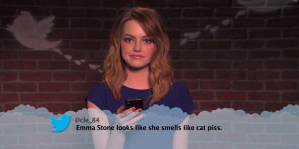Celebrities-Read-Mean-Tweets-Emma-Stone 2
