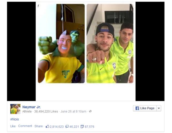 facebook-neymar