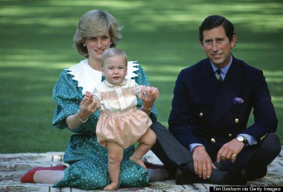 Diana Charles & William